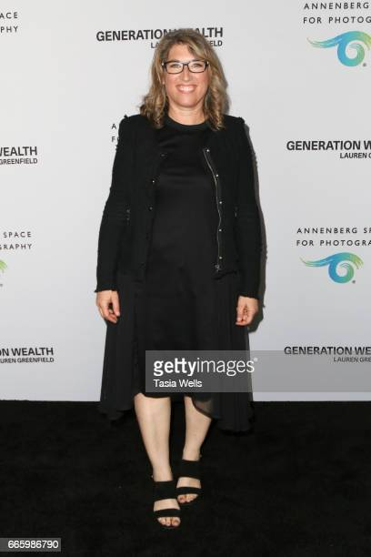Photographer Lauren Greenfield attends opening night of 'Generation Wealth' by Lauren Greenfield at Annenberg Space For Photography on April 6 2017...
