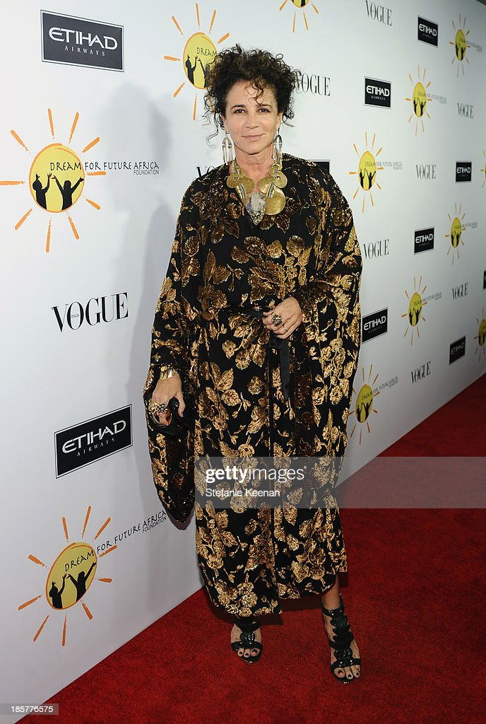Photographer <a gi-track='captionPersonalityLinkClicked' href=/galleries/search?phrase=Lisa+Eisner&family=editorial&specificpeople=4104056 ng-click='$event.stopPropagation()'>Lisa Eisner</a> attends Dream for Future Africa Foundation Inaugural Gala honoring Franca Sozzani of VOGUE Italia at Spago on October 24, 2013 in Beverly Hills, California.