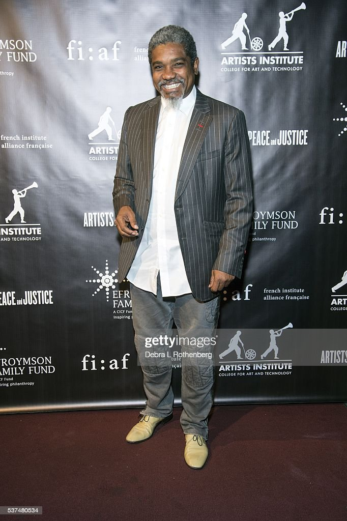 Photographer Marc Baptiste attends the French Institute Alliance Francaise and Artists for Peace and Justice 'Haiti Optimiste' event at Florence Gould Hall on June 1, 2016 in New York City.
