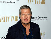 Photographer Mario Testino attends the Annie Leibovitz Book Launch presented by Vanity Fair Leon Max and Benedikt Taschen during Vanity Fair Campaign...