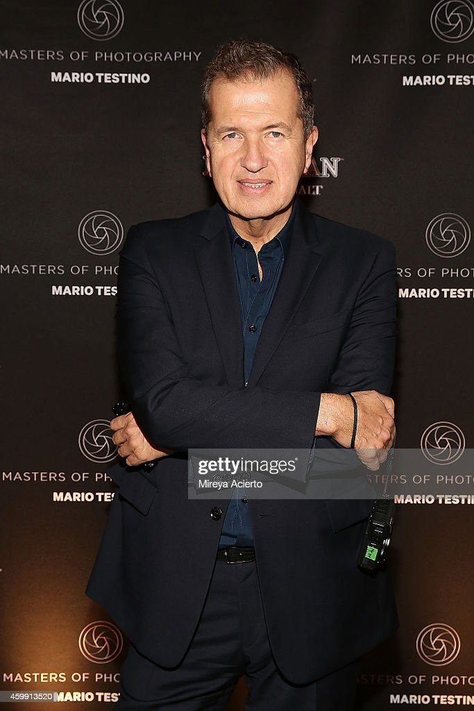 Photographer <a gi-track='captionPersonalityLinkClicked' href=/galleries/search?phrase=Mario+Testino&family=editorial&specificpeople=203087 ng-click='$event.stopPropagation()'>Mario Testino</a> attends the Macallan Masters of Photography: <a gi-track='captionPersonalityLinkClicked' href=/galleries/search?phrase=Mario+Testino&family=editorial&specificpeople=203087 ng-click='$event.stopPropagation()'>Mario Testino</a> Edition Launch Event at Gramercy Terrace at The Gramercy Park Hotel on December 3, 2014 in New York City.