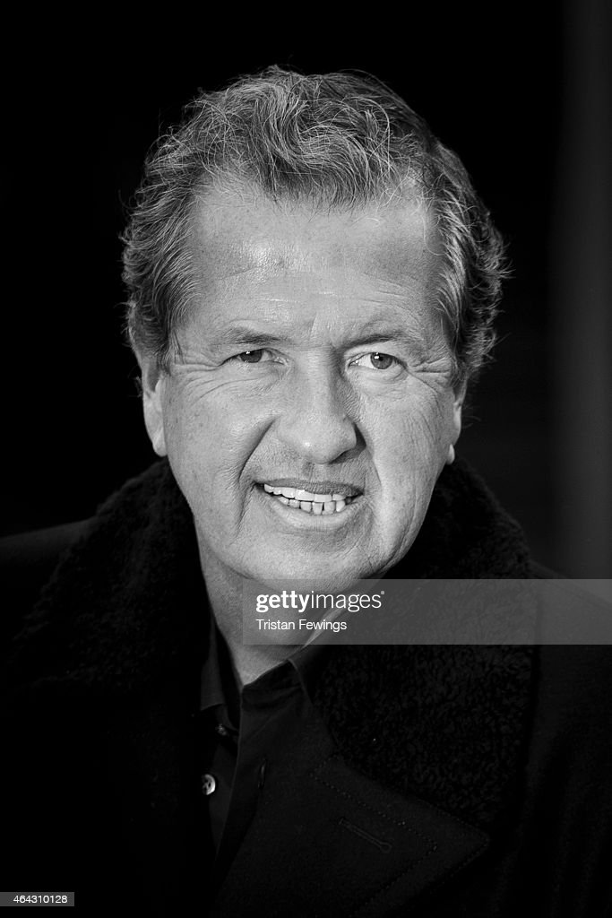 Photographer <a gi-track='captionPersonalityLinkClicked' href=/galleries/search?phrase=Mario+Testino&family=editorial&specificpeople=203087 ng-click='$event.stopPropagation()'>Mario Testino</a> is photographed on February 23, 2015 while attending Burberry Porsum Fashion show in London, England.