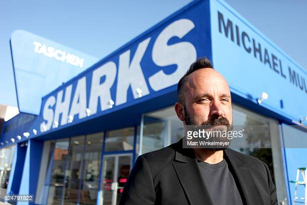 Photographer Michael Muller attends the Opening Reception for his book 'Shark' hosted by TASCHEN at TASCHEN Gallery on April 26 2016 in Los Angeles...