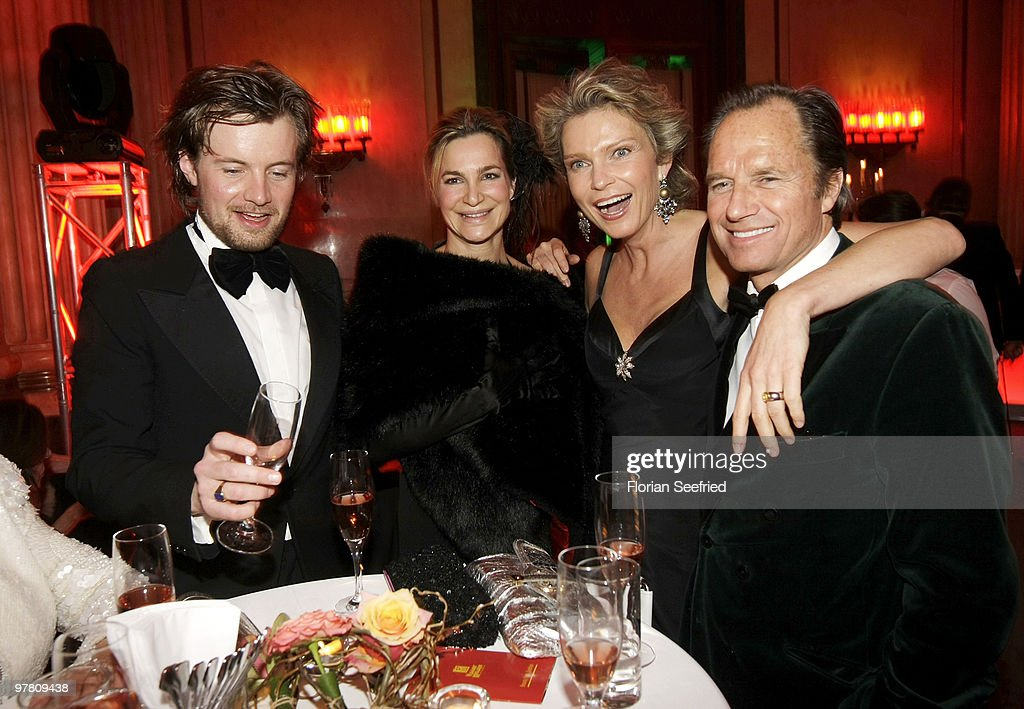Photographer Michael von Hassel and girlfriend actress Alexandra Kamp and Stephanie von Pfuel and boyfriend Hendrik te Neues attend the Russian...