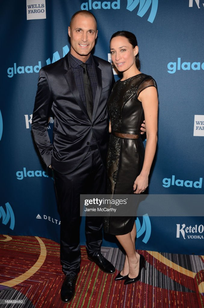 Photographer Nigel Barker and Cristen Barker and attends the 24th Annual GLAAD Media Awards on March 16, 2013 in New York City.