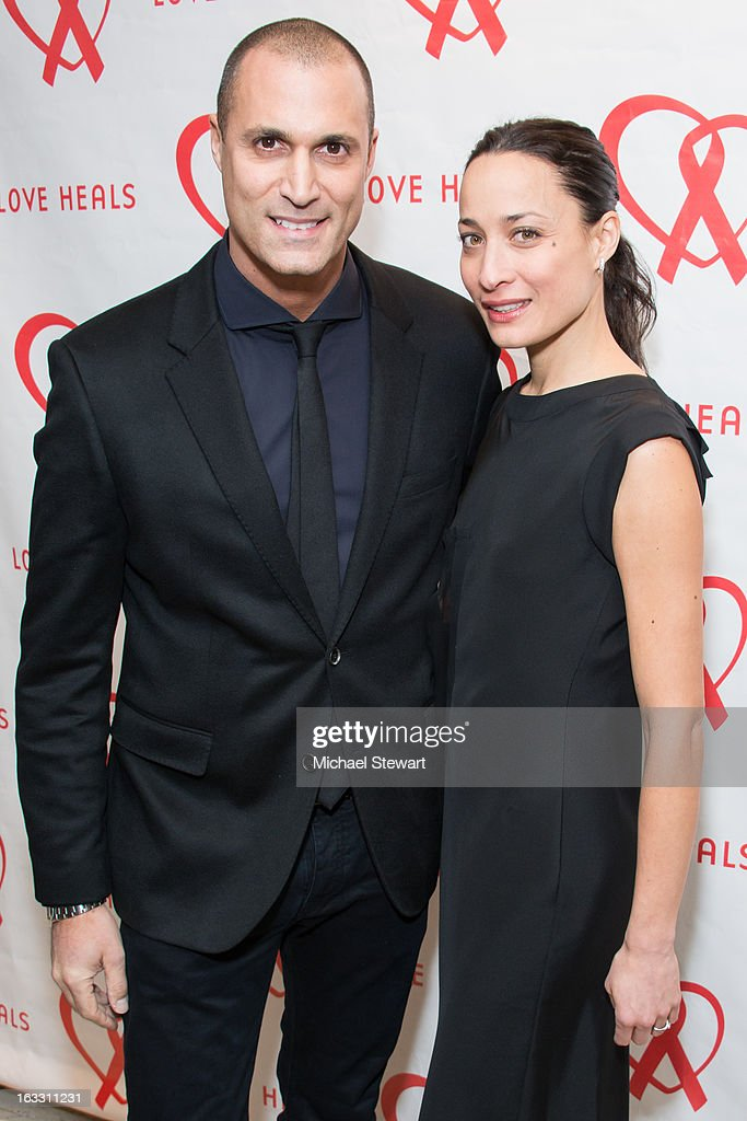 Photographer <a gi-track='captionPersonalityLinkClicked' href=/galleries/search?phrase=Nigel+Barker&family=editorial&specificpeople=691819 ng-click='$event.stopPropagation()'>Nigel Barker</a> (L) and Cristen Barker attend the 2013 Gala By Love Heals at The Four Seasons Restaurant on March 7, 2013 in New York City.