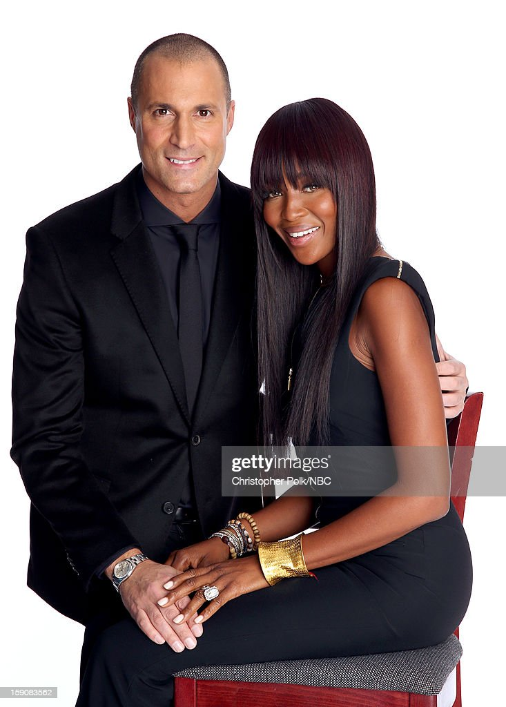 Photographer Nigel Barker (L) and model <a gi-track='captionPersonalityLinkClicked' href=/galleries/search?phrase=Naomi+Campbell&family=editorial&specificpeople=171722 ng-click='$event.stopPropagation()'>Naomi Campbell</a> attend the 2013 Winter TCA Tour- Day 4 at The Langham Huntington Hotel and Spa on January 7, 2013 in Pasadena, California.