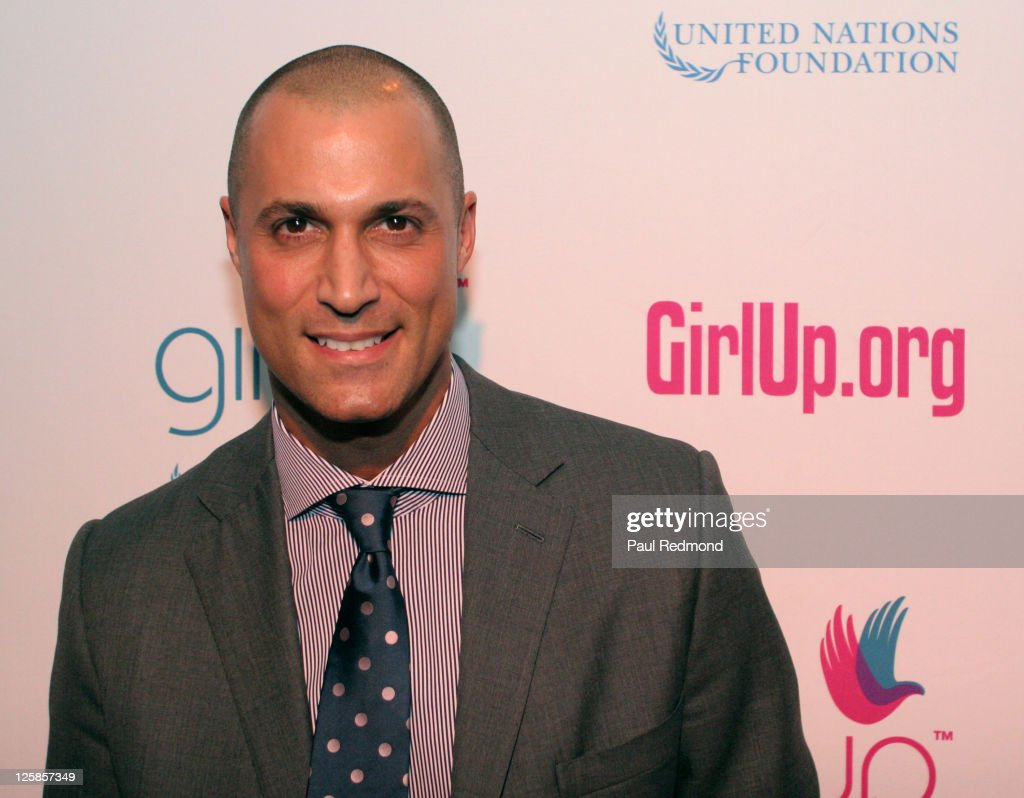 Photographer Nigel Barker arrives at Variety's Girl Up campaign launch on November 4, 2010 in Los Angeles, California.