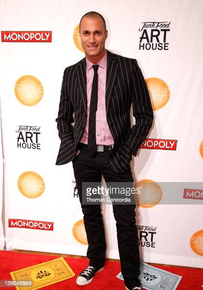 Photographer Nigel Barker at the STYLE360 presentation of Monopoly by Junk Food Art house 'Money Can't Buy Happiness' at the Metropolitan Pavilion...