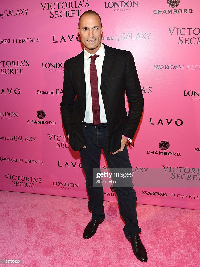Photographer Nigel Barker attends Samsung Galaxy features arrivals at the official Victoria's Secret fashion show after party on November 7, 2012 in New York City.