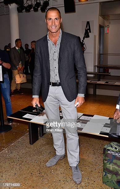 Photographer Nigel Barker attends the Cushnie Et Ochs show during Spring 2014 MercedesBenz Fashion Week at Milk Studios on September 6 2013 in New...