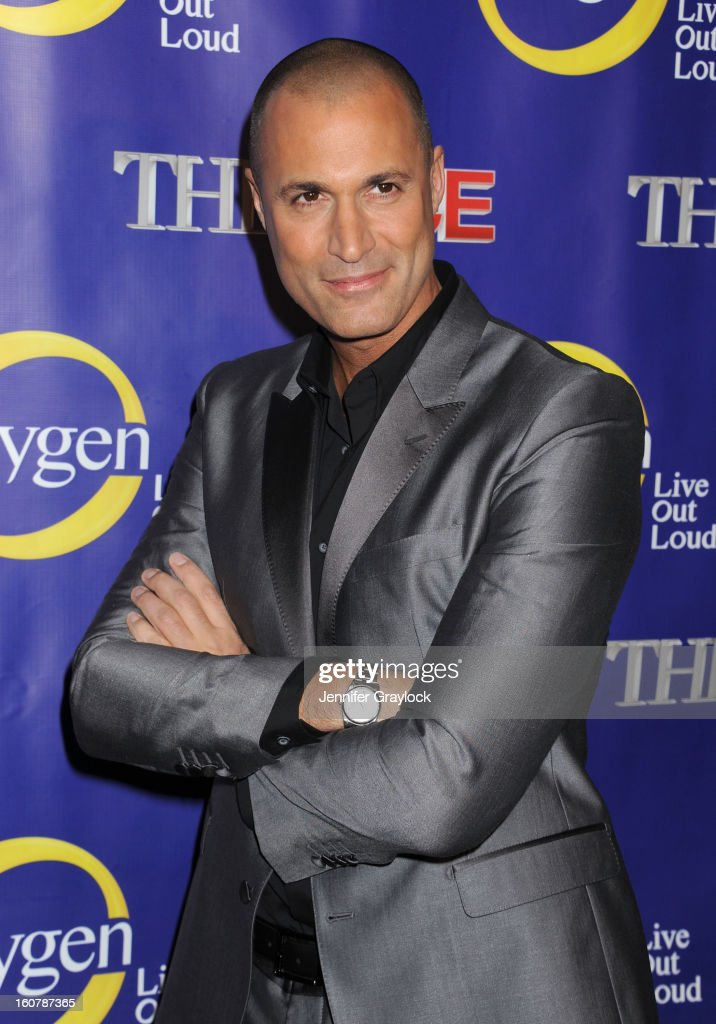 Photographer Nigel Barker attends 'The Face' Series Premiere at Marquee New York on February 5, 2013 in New York City.