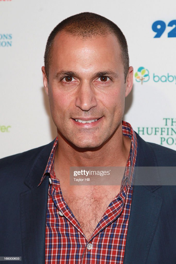 Photographer Nigel Barker attends the Mom + Social Event at the 92Y Tribeca on May 8, 2013 in New York City.