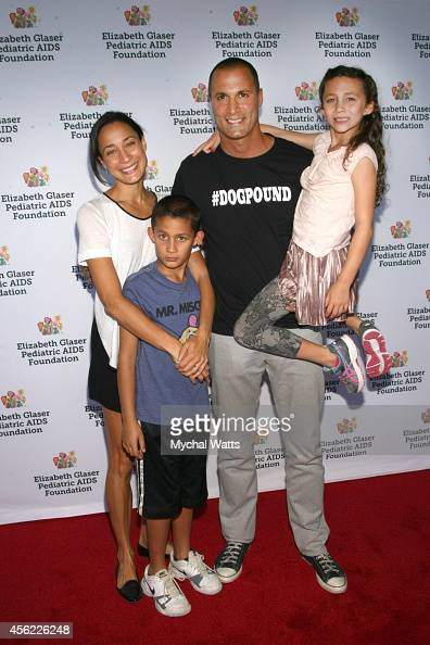 Photographer Nigel Barker Cristen Barker Jasmine and Jack attend Elizabeth Glaser Pediatric AIDS Foundation's 'Kids 4 Kid' Family Festivaland family...