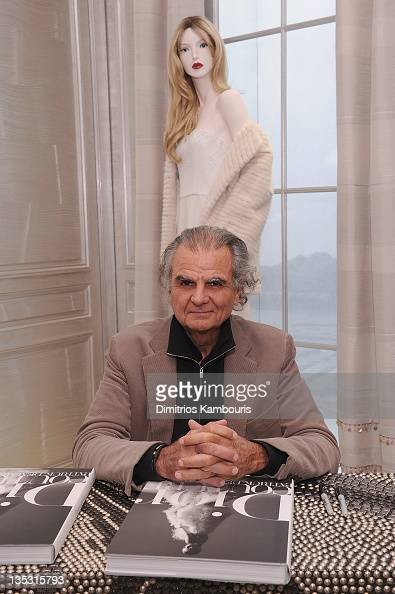 Photographer Patrick Demarchelier attends a book signing for 'Dior Couture Patrick Demarchelier' hosted by Dior at Dior Boutique on December 8 2011...