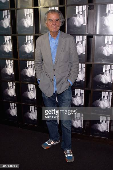 Photographer Patrick Demarchelier attends the 'Patrick Demarchelier' special exhibition preview to celebrate NYFW The Shows for Spring 2016 at...