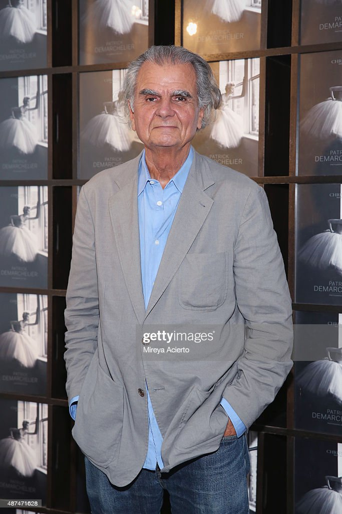 Photographer Patrick Demarchelier attends the Patrick Demarchelier Exhibit Fashion Week kick off party at Christie's Auction House on September 9...