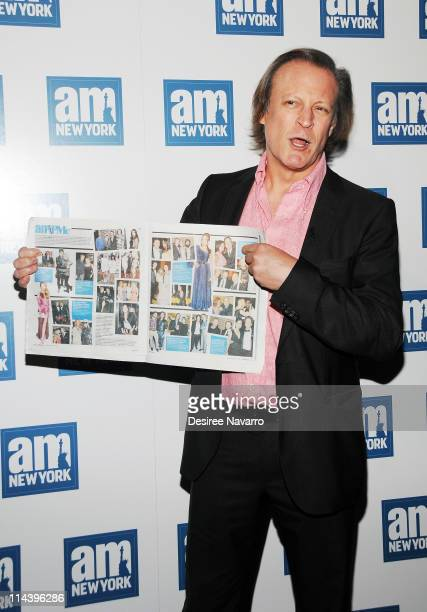 Photographer Patrick McMullan attends a welcome party for new columnists at The Chelsea Room on May 18 2011 in New York City