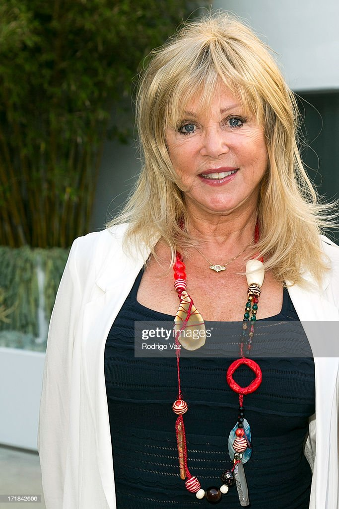 Photographer Pattie Boyd attends the Pattie Boyd: Newly Discovered Photo Exhibition at Morrison Hotel Gallery on June 28, 2013 in West Hollywood, California.