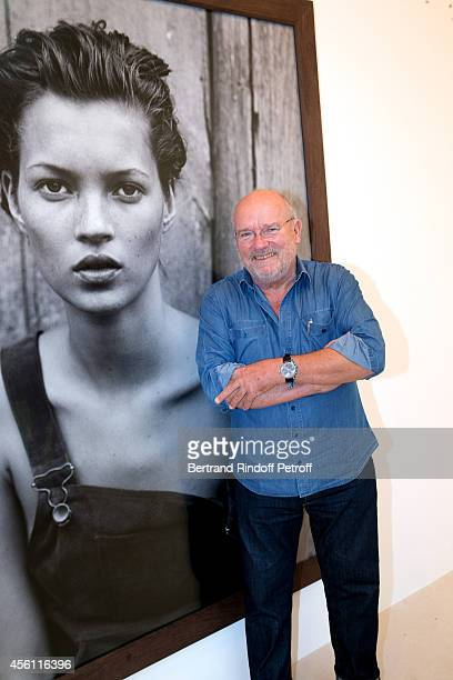 Photographer Peter Lindbergh attends his Exhibition at Gagosian Gallery on September 25 2014 in Paris France