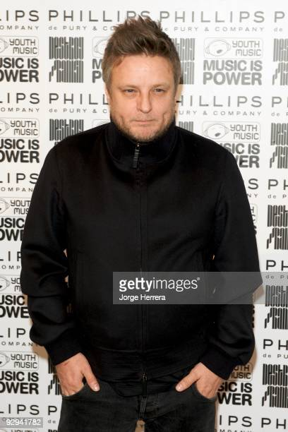 Photographer Rankin attends the Destroy/Rankin Private View at Phillips de Pury on November 9 2009 in London England