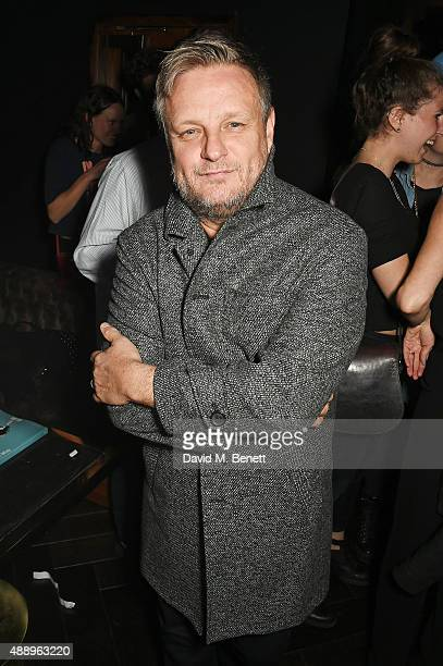 Photographer Rankin attends the Hunger Magazine Issue 9 Launch Party with Crystal Head Vodka during at the Tape London Members Club London Fashion...