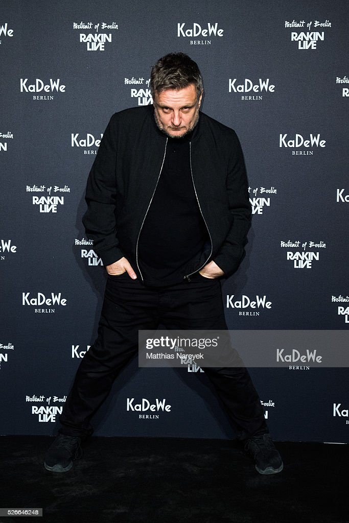 Photographer Rankin attends the Rankin Live x KaDeWe event at KaDeWe on April 30, 2016 in Berlin, Germany.