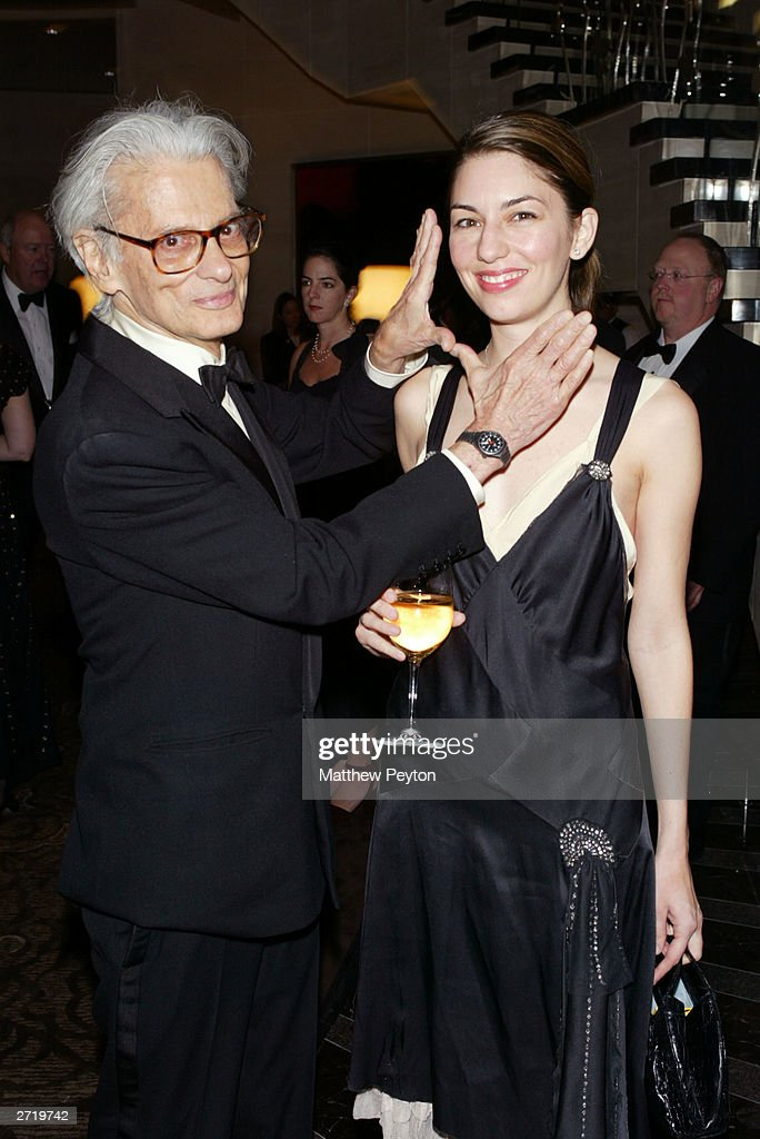 Photographer Richard Avedon and director Sofia Coppola attend the Americans For The Arts 8th Annual National Arts Awards Gala at the Mandarin...