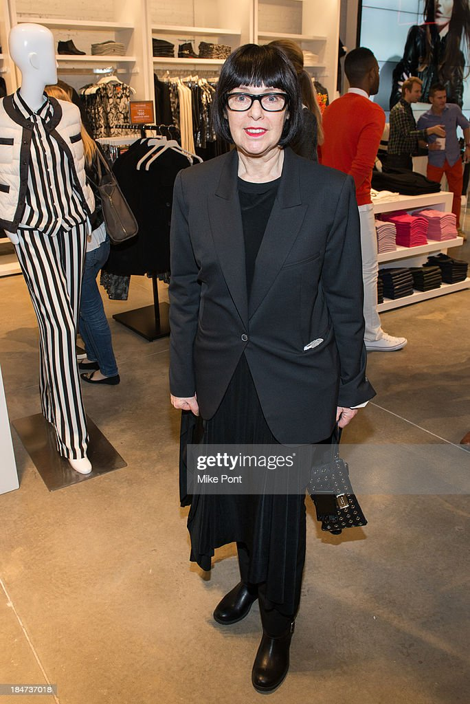 Photographer Roxanne Lowit attends the Joe Fresh Soho opening party at Joe Fresh Soho on October 15 2013 in New York City