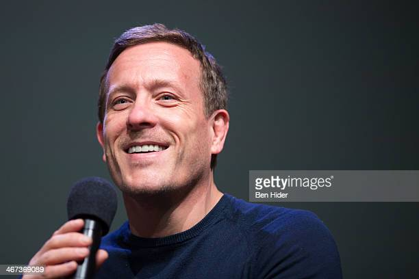 Photographer Scott Schuman speaks at Apple Store Soho on February 6 2014 in New York City