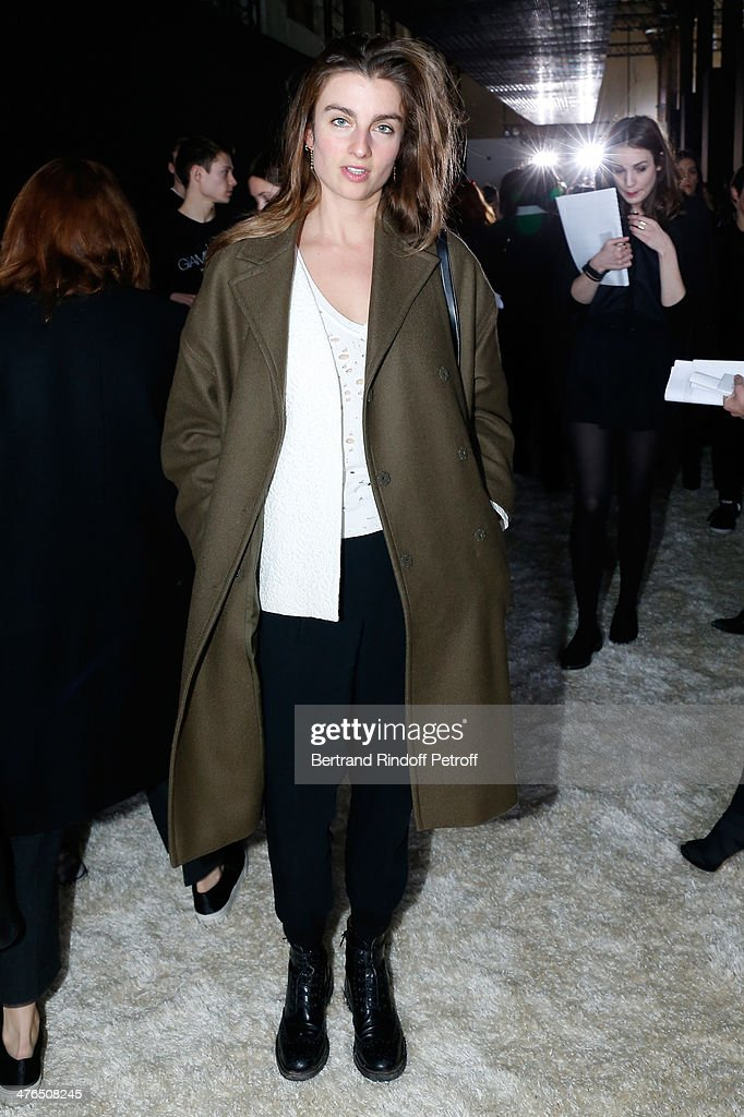 Photographer Sonia Sieff attends the Giambattista Valli show as part of the Paris Fashion Week Womenswear Fall/Winter 2014-2015 on March 3, 2014 in Paris, France.