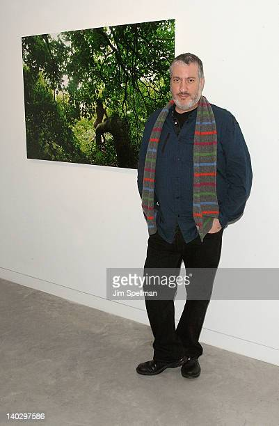 Photographer Spencer Tunick attends Gallery 151 presents Mia Berg Woman Camera opening reception at Gallery 151 on March 1 2012 in New York City