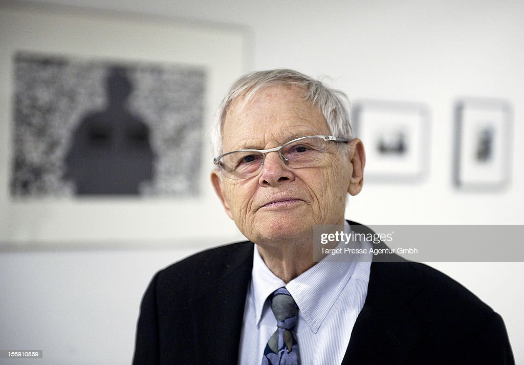 Photographer Steve Schapiro attends the Re-Opening of the JFK Museum Berlin on November 24, 2012 in Berlin, Germany.