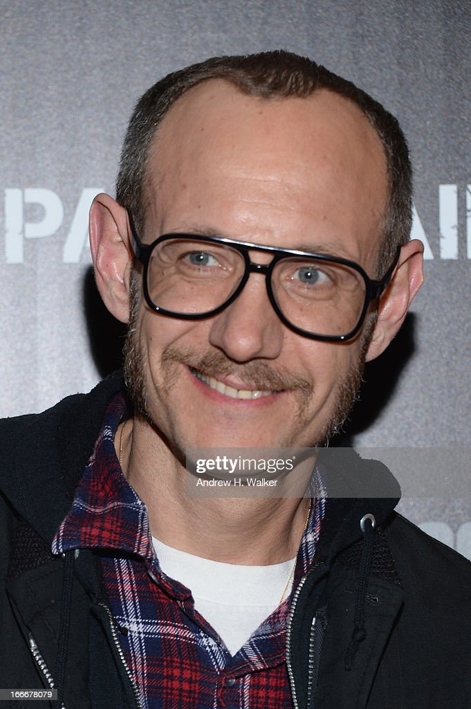 Photographer Terry Richardson attends the Cinema Society screening of 'Pain And Gain' at Crosby Street Hotel on April 15, 2013 in New York City.