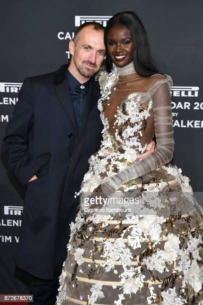 Photographer Tim Walker and Duckie Thot attend the 2018 Pirelli Calendar Launch Gala at The Pierre Hotel on November 10 2017 in New York City