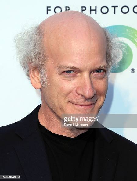 Photographer Timothy GreenfieldSanders attends IDENTITY Timothy GreenfieldSanders The List Portraits Exhibition opening at Annenberg Space For...
