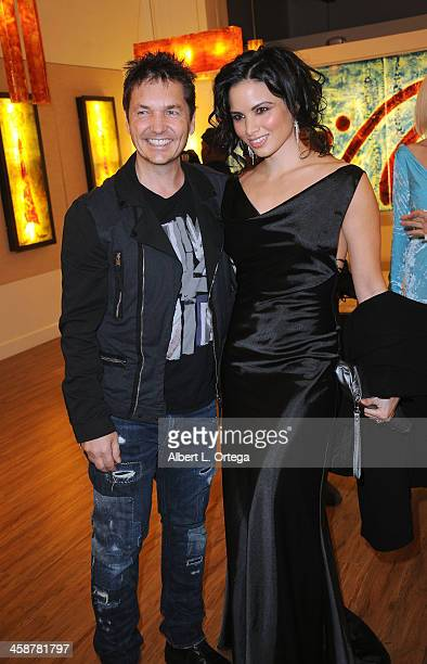 Photographer TJ Scott and actress Katrina Law attend TJ Scott's 'In The Tub' Book Party Launch to benefit UCLA's Jonsson Cancer Center for Breast...
