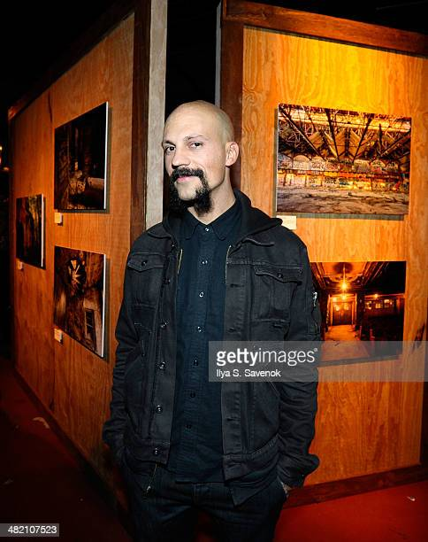 Photographer Tod Seelie attends the Cutty Sark Prohibition Edition Launch Event on April 2 2014 in Brooklyn United States