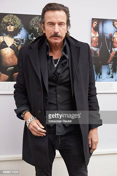 Photographer Tom Lemke attends the opening of the exhibition 'Helmut Newton Pages from the Glossies' and 'Greg Gorman Color Works' on December 3 2015...