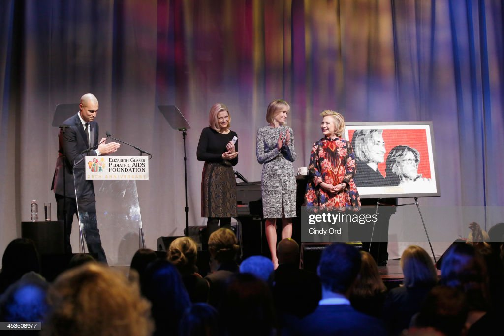 Photographer TV Personality Nigel Barker Journalist Diane Sawyer President EGPAF Board of Trustees Willow Bay and Global Impact Award Recipient...