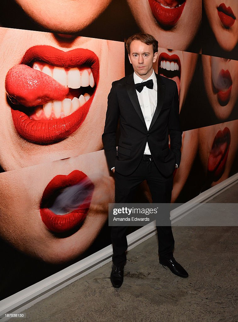 Photographer Tyler Shields attends the launch party for his new book 'The Dirty Side Of Glamour' at Guy Hepner Gallery on November 9 2013 in...