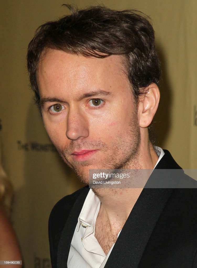 Photographer Tyler Shields attends The Weinstein Company's 2013 Golden Globe Awards After Party at The Beverly Hilton hotel on January 13 2013 in...