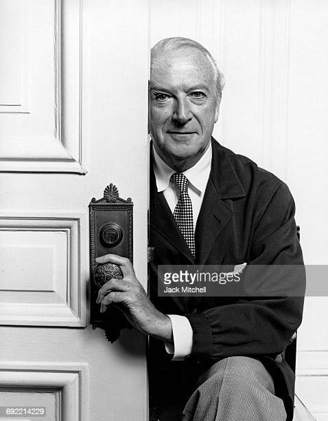 Photographer writer painter and designer Cecil Beaton photographed in 1963