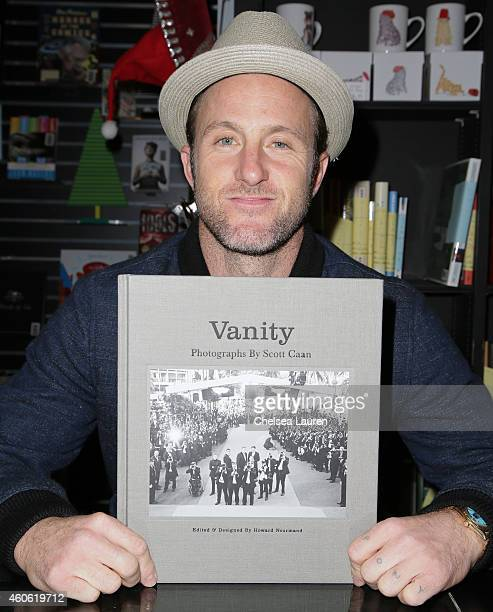 Photographer/actor Scott Caan signs his book 'Vanity' at Book Soup on December 17 2014 in West Hollywood California