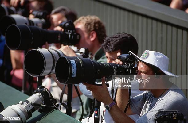 Photographers at Wimbledon 1994