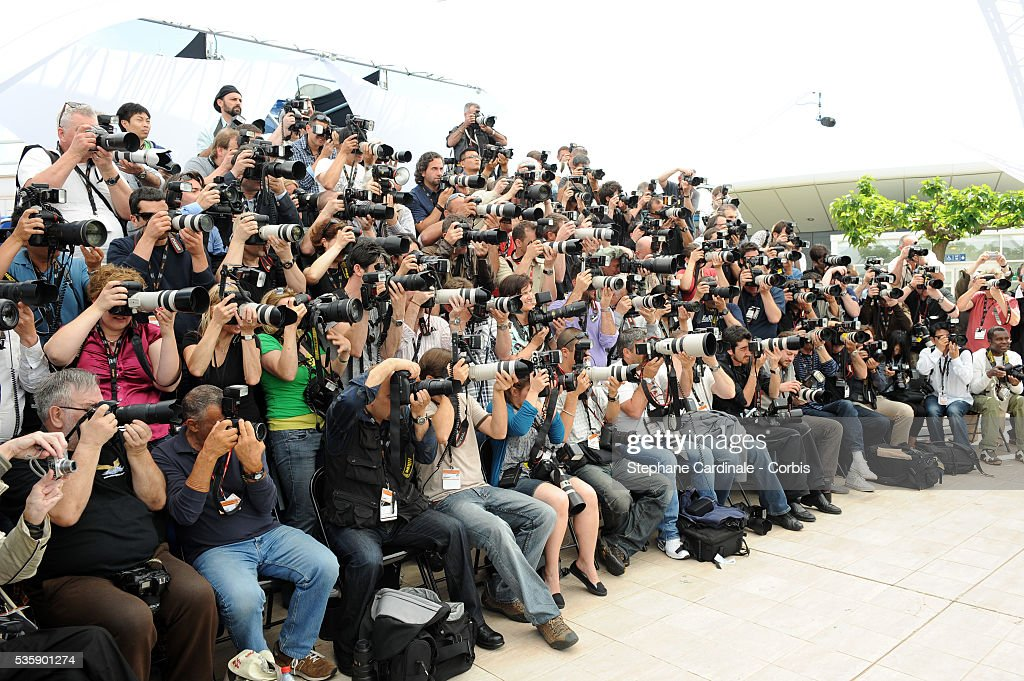 Photographers attend the Jury Photocall during the 63rd Cannes International Film Festival.