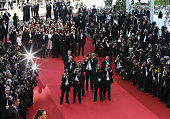 Photographers attend the 'This Must Be The Place' premiere during the 64th Annual Cannes Film Festival at Palais des Festivals on May 20 2011 in...