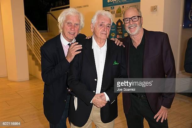 Photographers Douglas Kirkland Harry Benson and Greg Gorman attend the Harry Benson Shoot First LA Premiere at The Paley Center for Media on November...