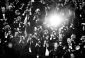 Photographers during arrivals for the 'All Is Lost' Premiere during the 66th Annual Cannes Film Festival at Palais des Festivals on May 22 2013 in...