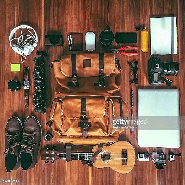 Équipement de photographe